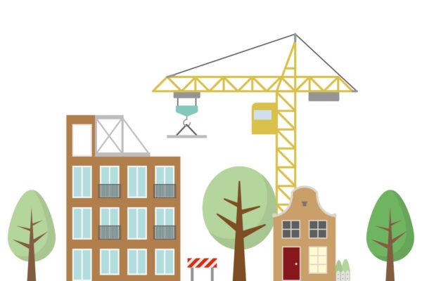 Woningbouw in de stad